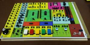 Elektronická stavebnice Saimon 1, verze 1