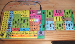 Elektronické stavebnice Saimon 1, verze 2 a modul Saimon 2, verze 1