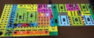 Elektronické stavebnice Saimon 1, verze 3 a modul Saimon 2, verze 2