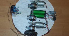 Arduino robot - Požárník