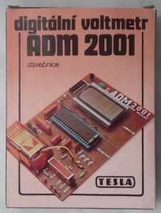 Stavebnice digitálního voltmetru ADM 2001