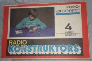 stavebnice Radiokonstruktér